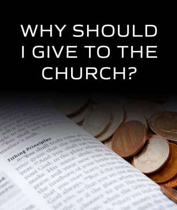 Why Should I Give To The Church?